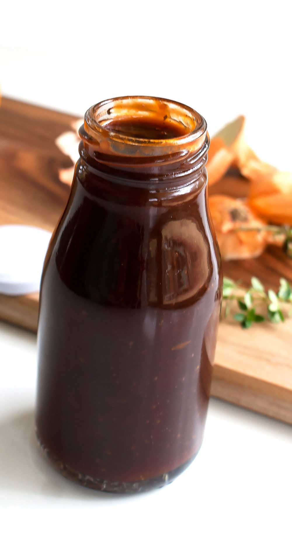 This homemade barbecue sauce is the perfect mix of sweet and tangy. A straight forward recipe that will become a firm favourite.