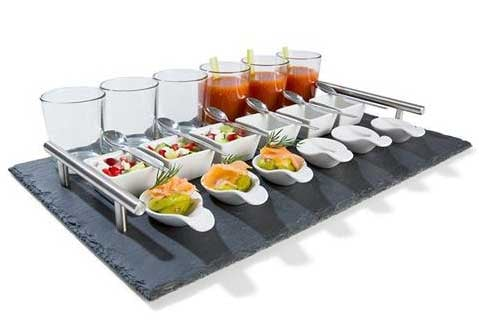 Christmas gift ideas for the foodie in your life for Canape serving platters