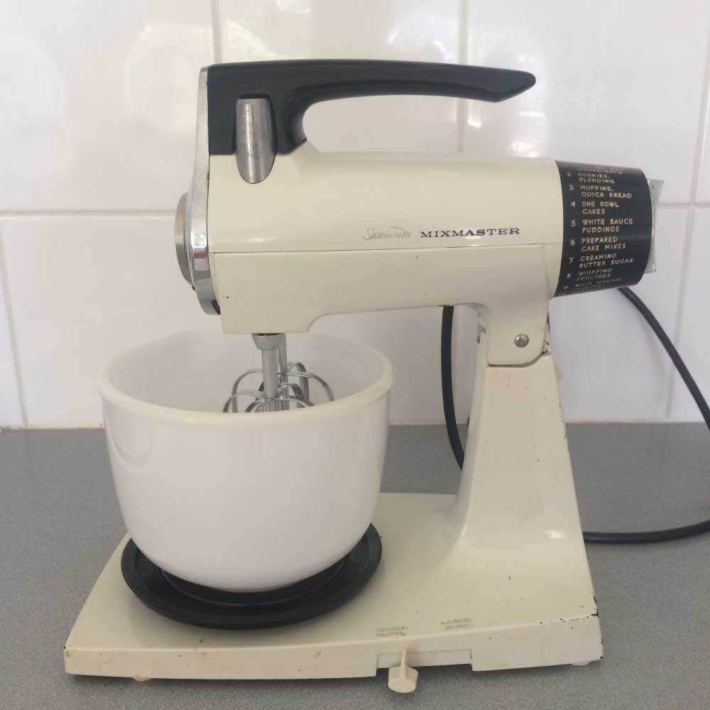 Sunbeam Stand Mixer. #retro #cool #kitchenaid #dream