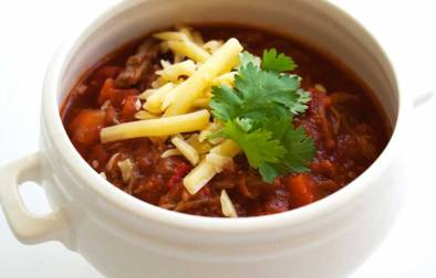 Aromatic Beef and Tomato Soup. A quick and delicious soup that makes left over beef go a long way.