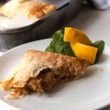 Hand Held Chicken Curry Pies.