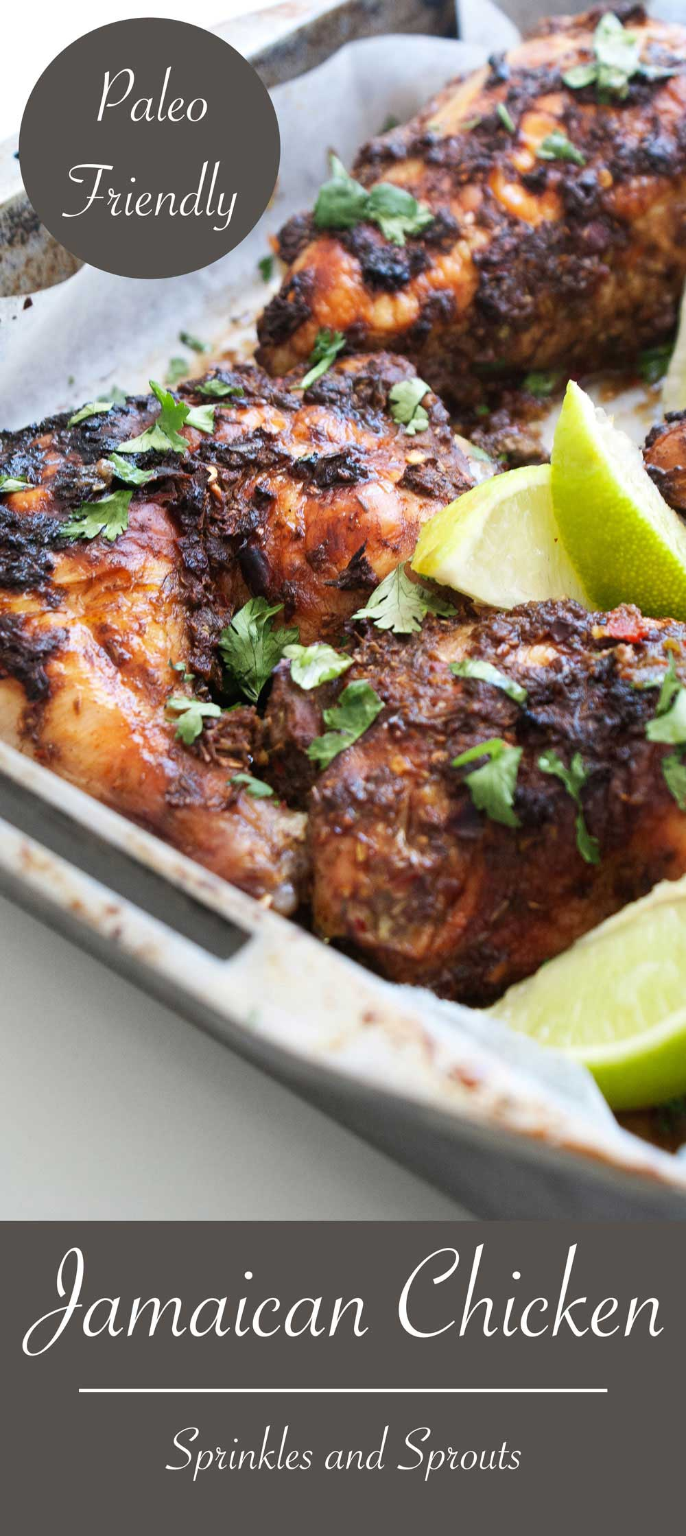 jamaican chicken  sprinkles and sprouts