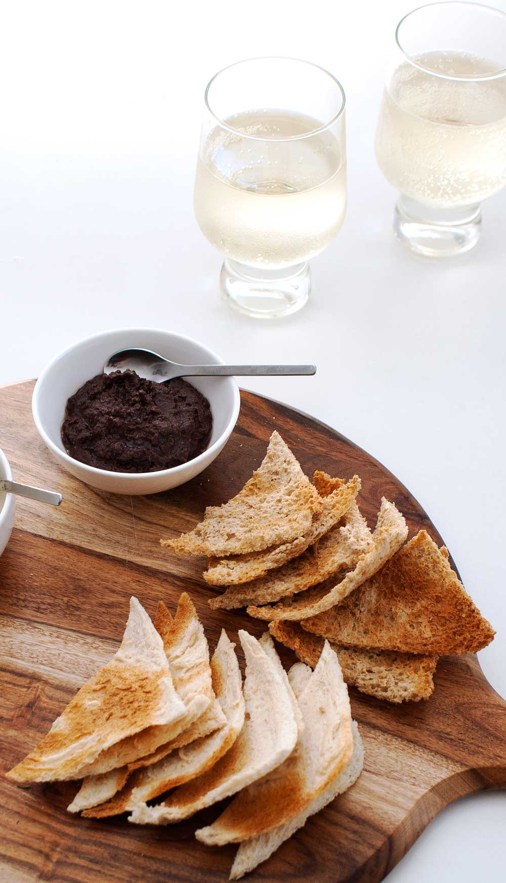Saturday Afternoon Platter - Kalamata Olive Tapenade. A delicious and rich dip or spread.