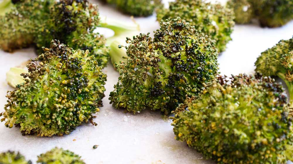 Roasted Broccoli Sprinkles And Sprouts