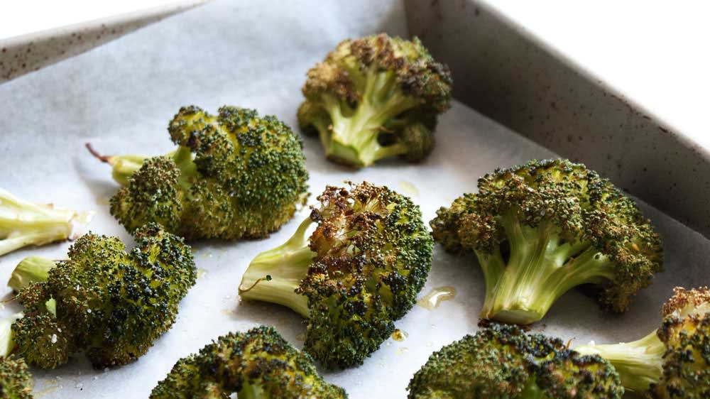 Roasted Broccoli. A delicious ad different way to eat broccoli. Once you eat it roasted you will never go back!