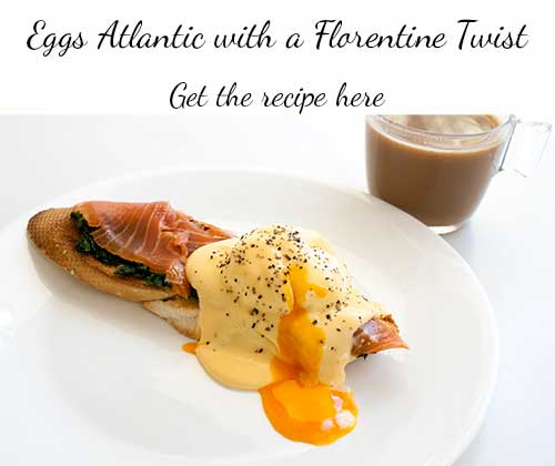 Eggs Atlantic with 2 minute hollandaise sauce | Sprinkles and Sprouts