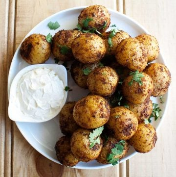 Cajun Spiced Potatoes. A simple and delicious side dish.