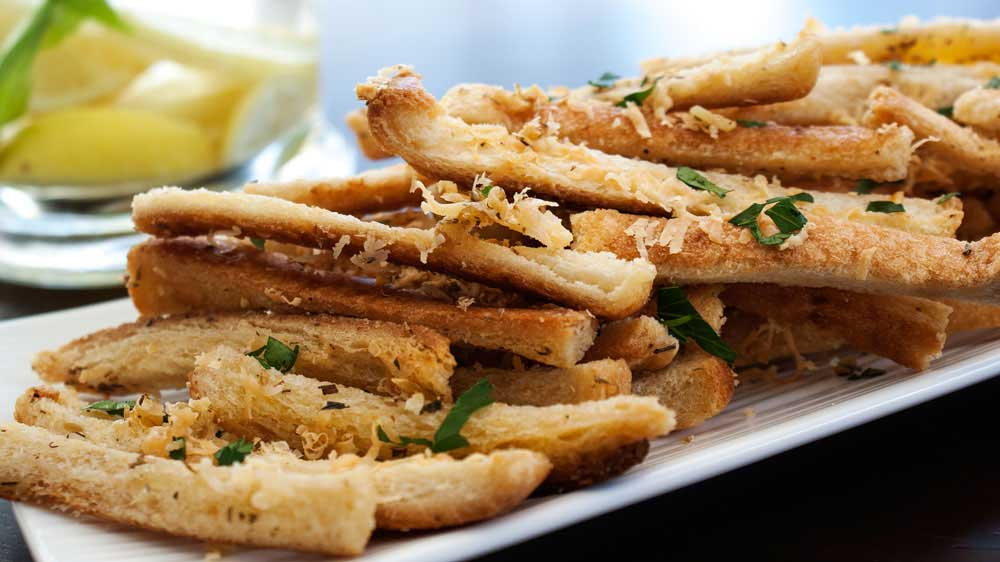 garlic dijon herb salmon crunchy garlic and herb bread sticks recipes ...