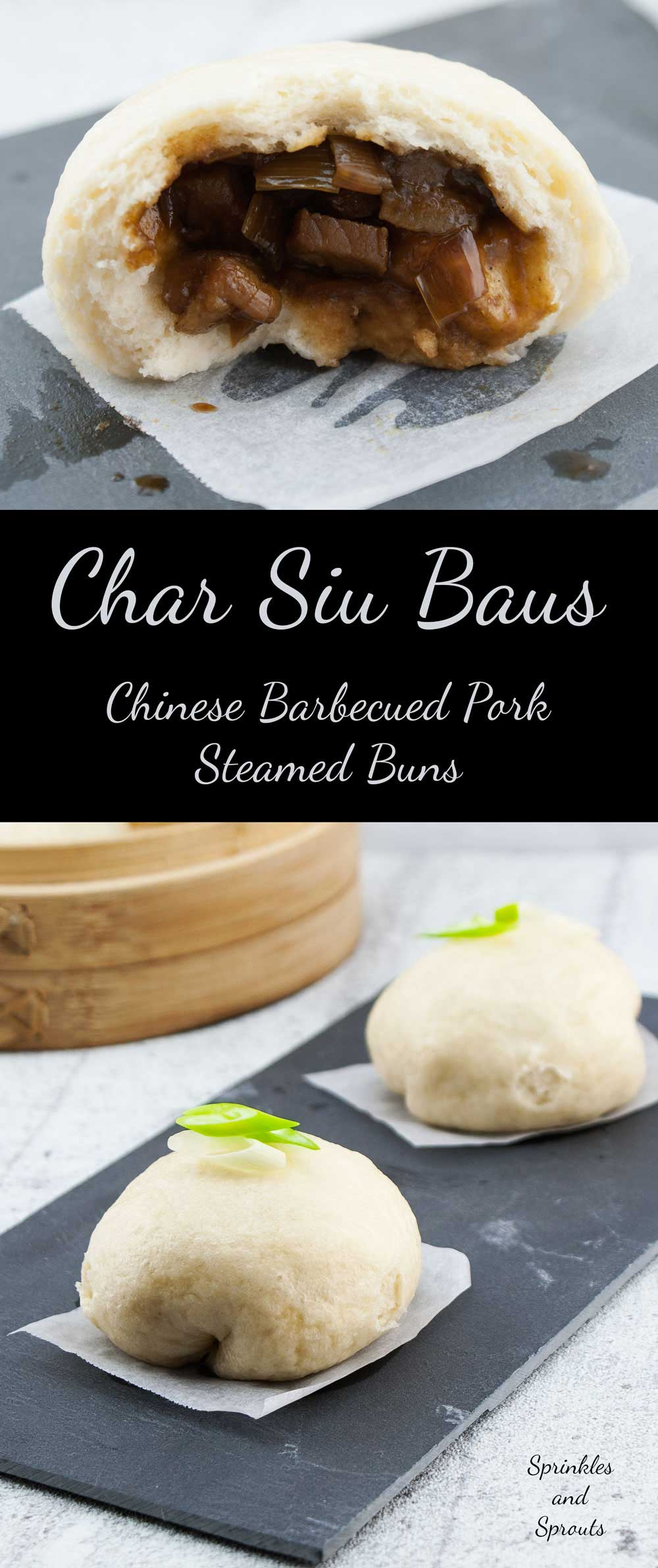 Char Siu Bau - Chinese Barbecued Pork Steamed Buns