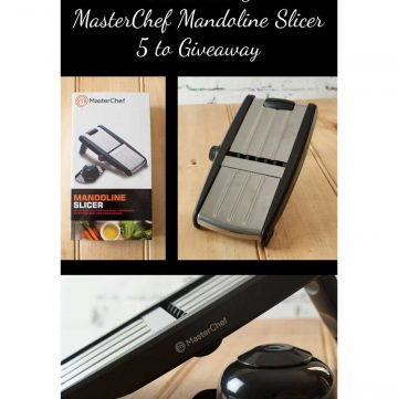 GIVEAWAY. MasterChef Mandoline Slicer Giveaway from Sprinkles and Sprouts