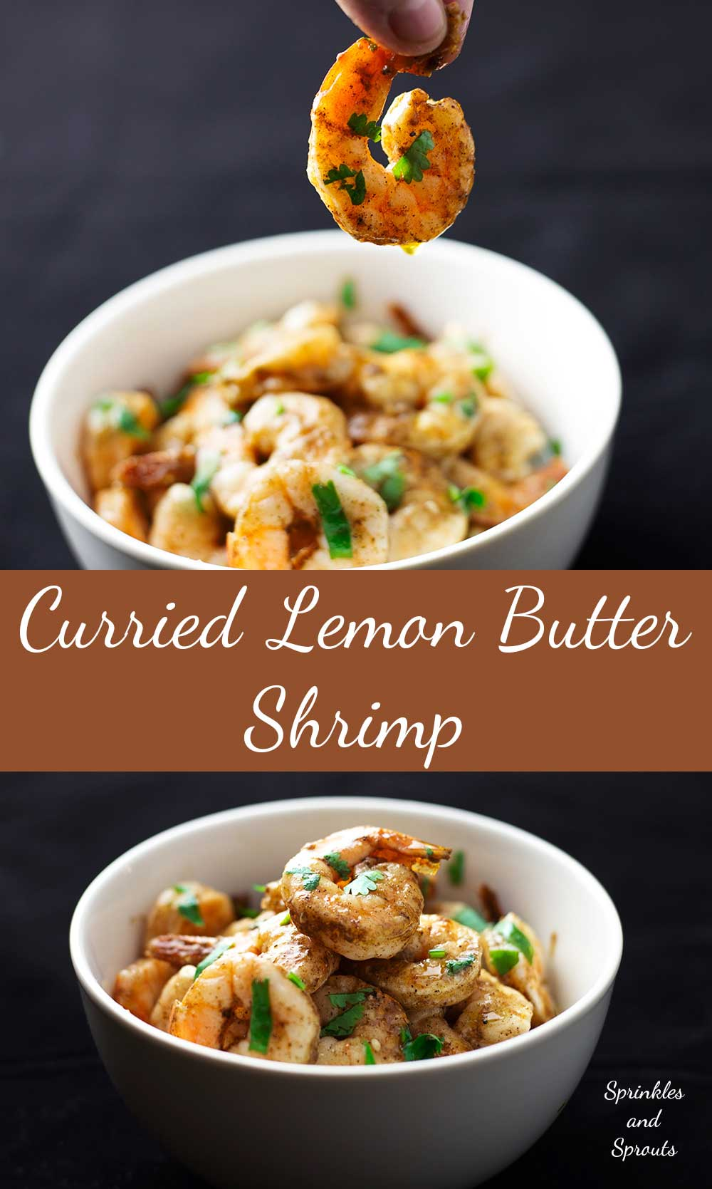 Curried Lemon Butter Shrimps(Prawns) Succulent, fragrant and finger lickingly delicious. These shrimps are so amazing!