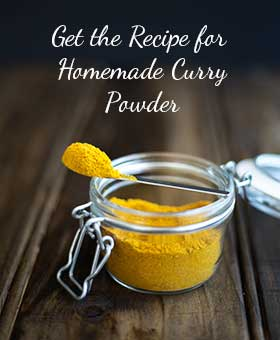 Homemade Curry Powder. Quick, easy, natural AND ittastes so much better than your store bought brands.