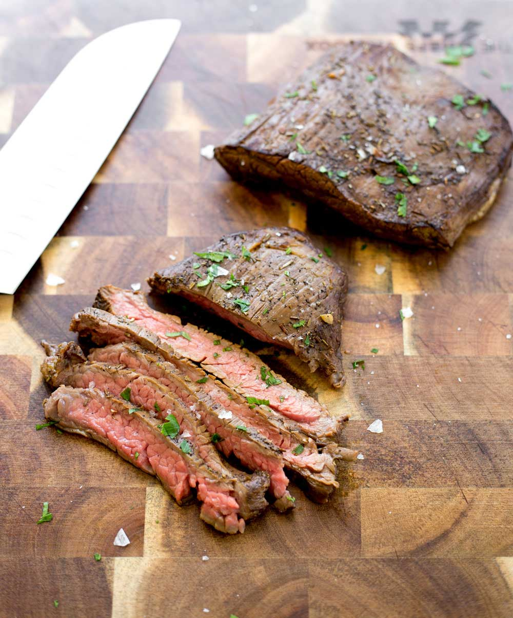 Coffee Marinated Skirt Steak. A tender, delicious way to marinade. This recipe will surprise you with the complex smoky, sweet, tangy flavour.