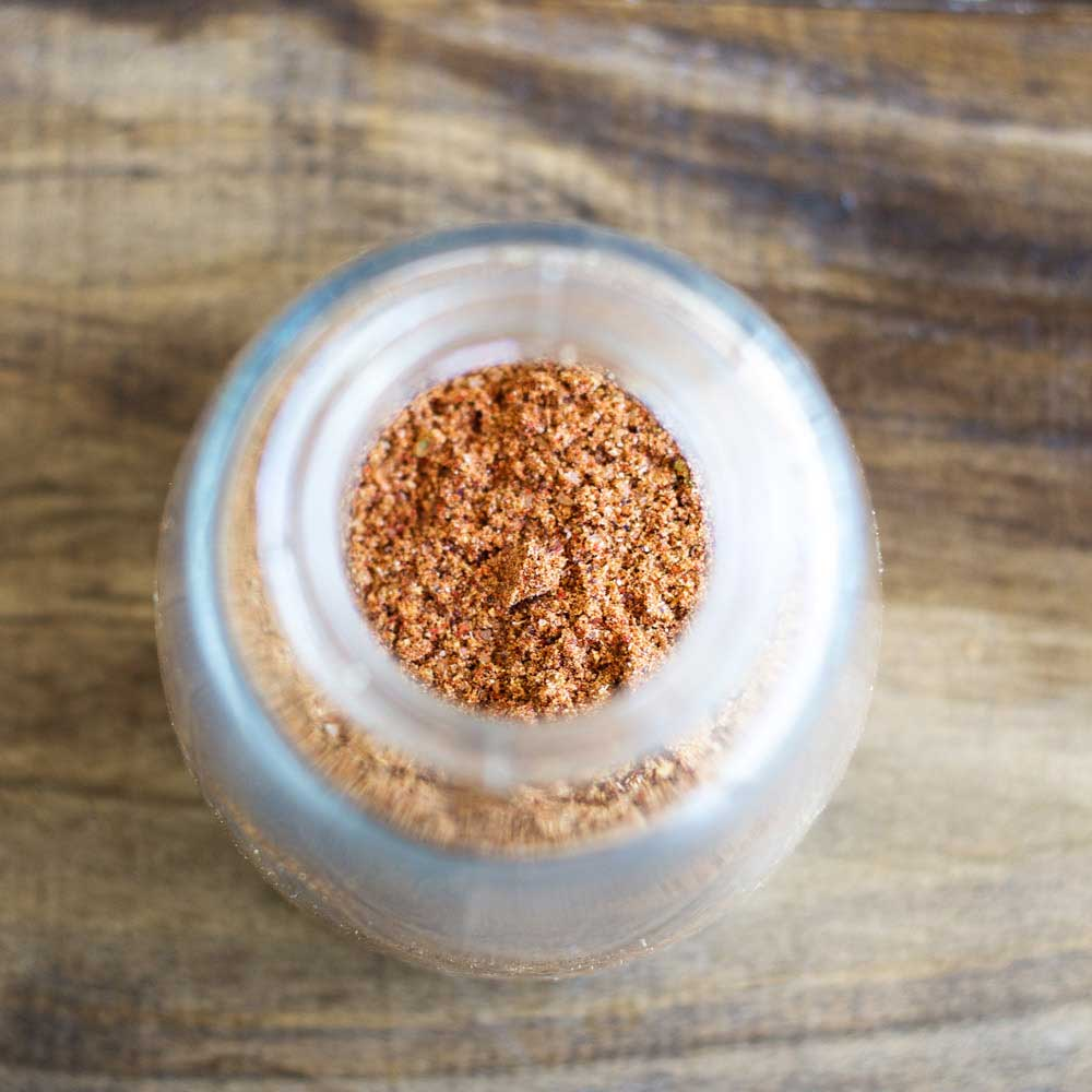 Homemade Old Bay Style Seasoning. A wonderful mix of herbs and spices, perfect for crab, shrimp, chicken and so so much more.