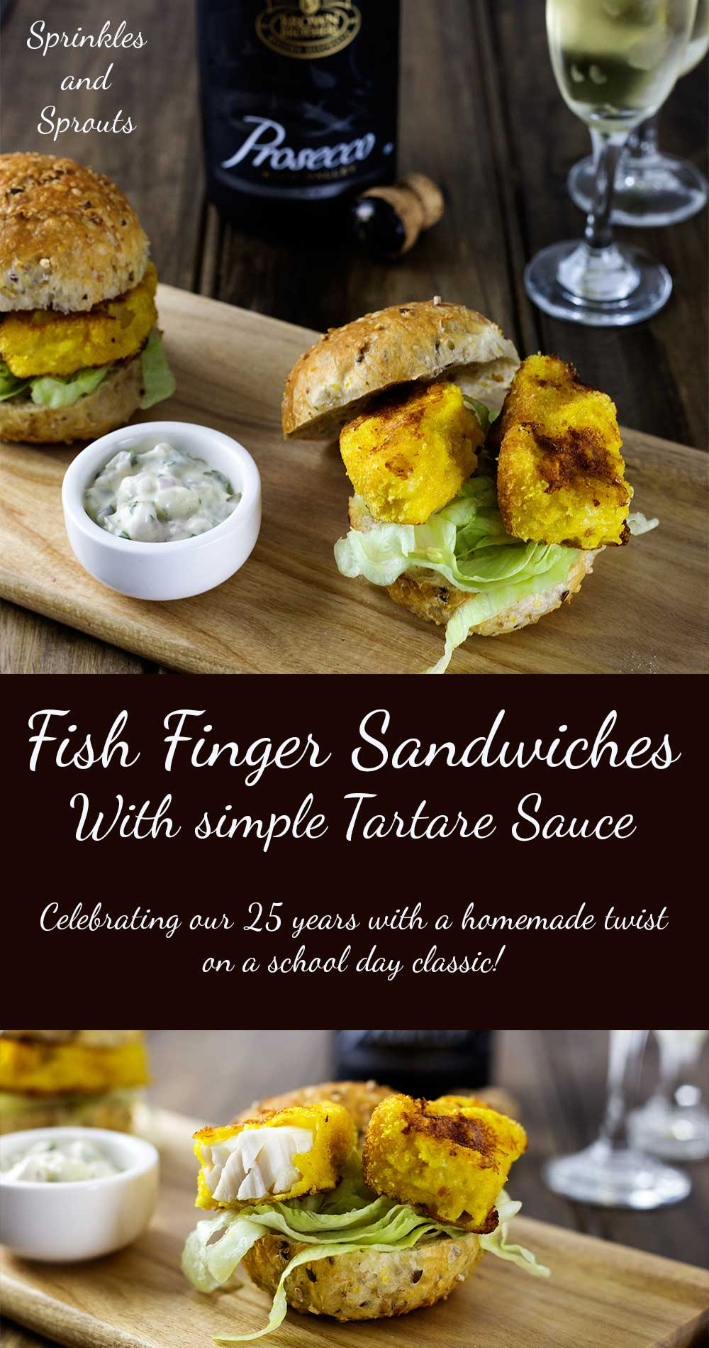 Homemade Fish Fingers. Succulent fish encased in a glorious crunchy crumb served with simple homemade tartare sauce. The perfect sandwich filling!