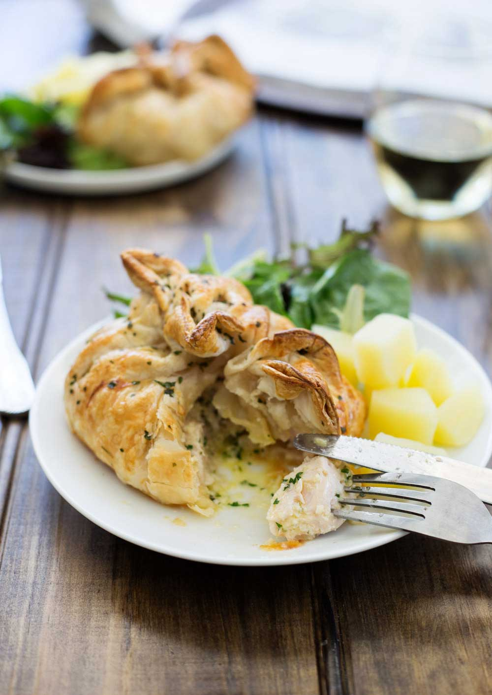 Chicken And Potato Parcels Recipes — Dishmaps