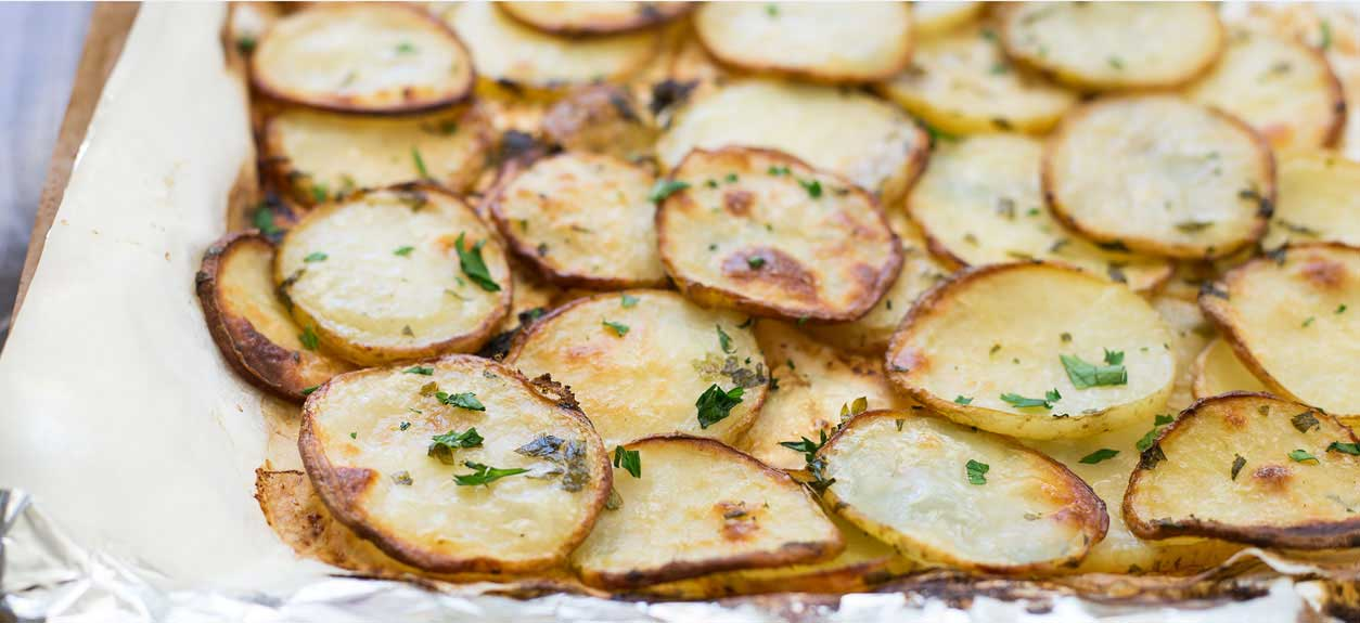 Herbed Potato Slices