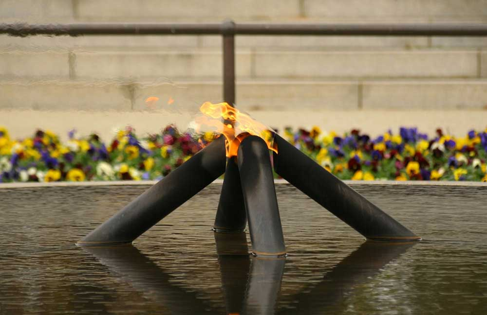 Kings Park Eternal Flame | Lest We Forget
