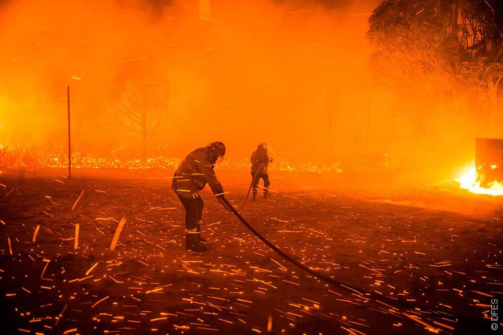 WA Firefighters. Credit DFES