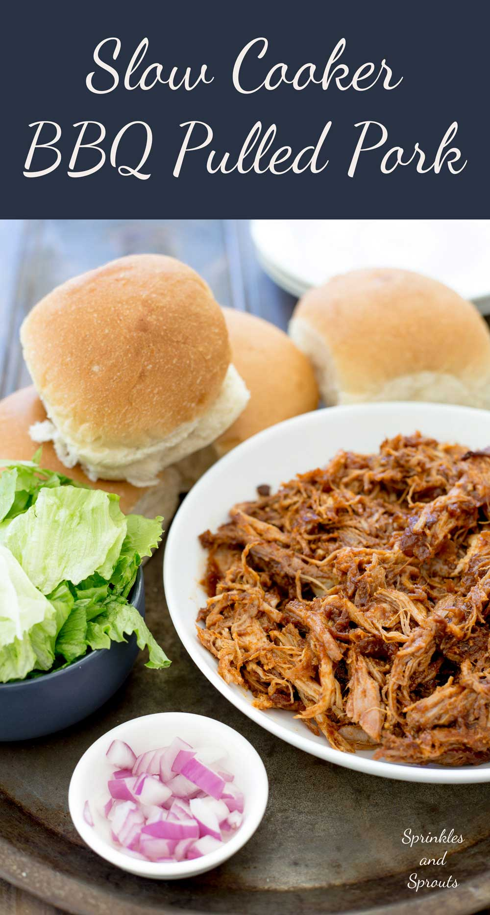 Who doesn't love pulled pork!!!! Shredded delicious meat that you can use in so many different ways!!!!! This BBQ pulled pork recipe is awesome as it cooks happily in the slow cooker, and makes the most delicious sauce. Effortless scrumptious dinner!!! Hand-up who is up for that one!