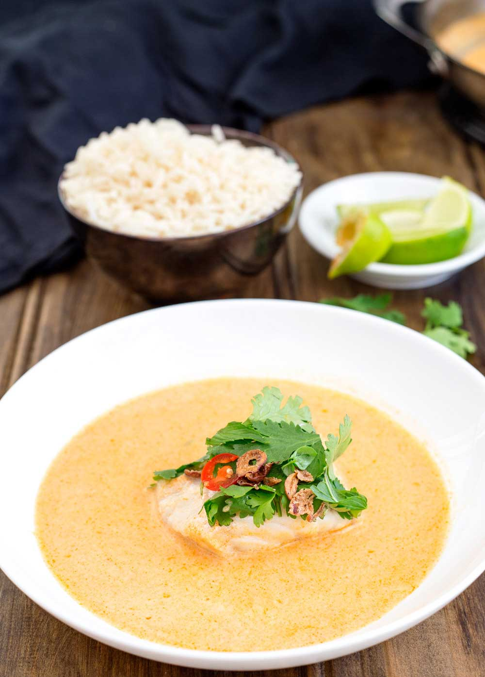 This Thai fish is so quick and so simple. It is packed full of flavour and will wow your family. Dinner on the table in under 15 minutes!!!!