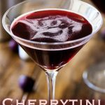 Cherrytini | This cherrytini is the perfect fruity martini! It tastes like an adult version of cherry drop sweets. Packed with cherry flavour and pulling a great alcoholic punch. Recipe by Sprinkles and Sprouts | Delicious Food for Easy Entertaining #cocktail #vodka #cocktailideas #martinirecipe #differentmartini