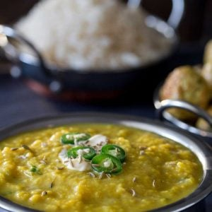This Red Lentil Dhal is a wonderfully nutritious and comforting bowl of goodness. It works well with rice and naan bread and is a great cheap family meal. And you can spice it up and change it up to suit you and your family!