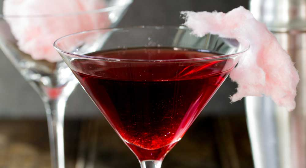 Fairy Floss Martini