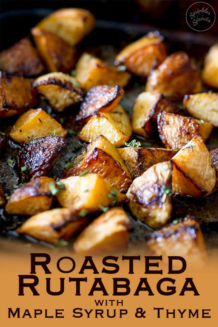 This roasted rutabaga (roasted swede) dish is a wonderful addition to your dinner table. Sweet and fragrant with an earthy note, this side dish will have guest begging for the recipe. Just be sure to cook this for long enough to get the good caramelly bits.