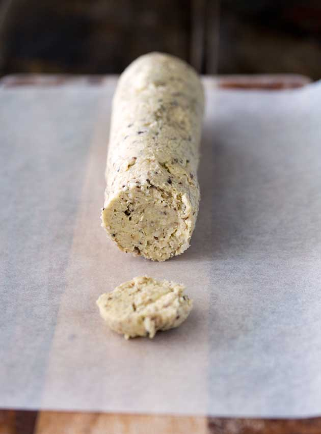 A subtle butter that adds a meaty sweetness to your meal. This is fabulous on steak or chicken! Or topping off large portobello mushrooms before you roast them.