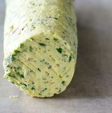 A wonderfully fresh and flavourful butter that is perfect for topping just about anything.
