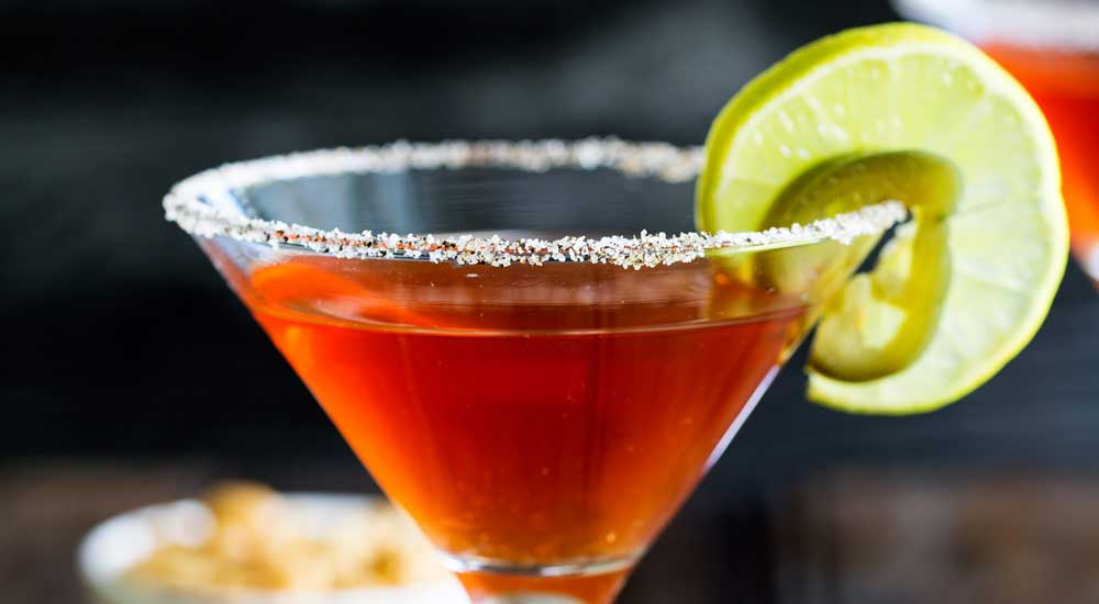 Spiced Capsicum Martini
