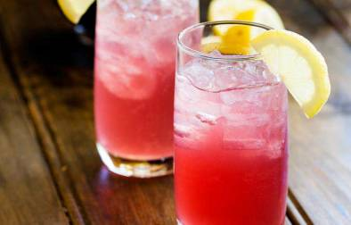 Alcoholic Pink Lemonade, with sweet and sour notes this cocktail will quickly become a firm favourite. Delicious, refreshing and so pretty!