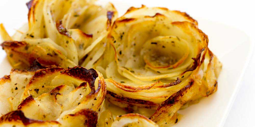 Potato Roses – An Elegant Side