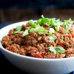 his Instant Pot taco mince is packed with flavour. And it cooks in the Instant pot or pressure cooker in just 15 minutes. Perfect for your tacos, enchiladas or just serving with rice.