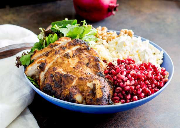 Moroccan Chicken Couscous Buddha Bowl