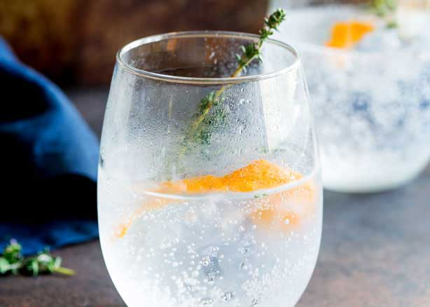 Orange and Thyme Gin and Tonic