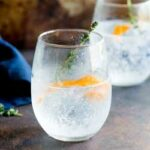 Sweet orange and floral thyme, give this Gin and Tonic a beautiful fruity freshness. Perfect for a September night. Try this with a Plymouth gin to accentuate the slight sweetness and earthy flavour. Recipe from Sprinkles and Sprouts | Delicious food for easy entertaining.