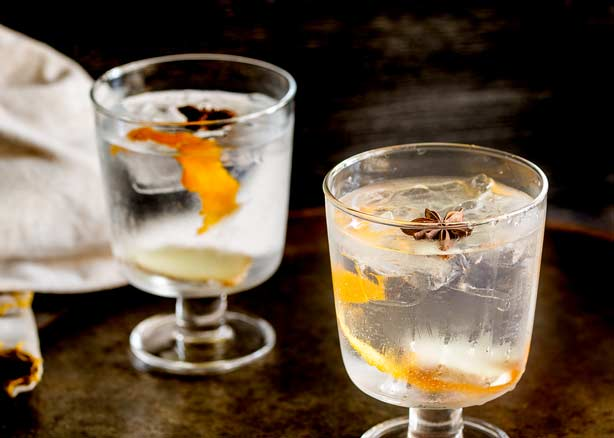 Ginger, Star Anise and Orange Gin and Tonic