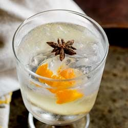 Try this Ginger, Star Anise and Orange Gin and Tonic at your next party or gathering. The warmth of fresh ginger and star anise mixed with sweet orange makes this unusual gin and tonic something special.
