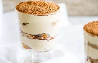 This Individual Tiramisu takes a classic Italian dessert and give it a simple twist, making it perfect for a prepare ahead individual dinner party dessert!