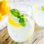 Lemon and Basil Gin and Tonic   Gin and lemon is such a classic combination but the addition of herbaceous basil means this Gin and Tonic pops with a wonderfully different flavor. This lemon and basil G&T is refreshing and unusual take on your normal G&T. Recipe by Sprinkles and Sprouts   Delicious Food for Easy Entertaining