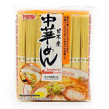 Hime ramen noodles in a packet