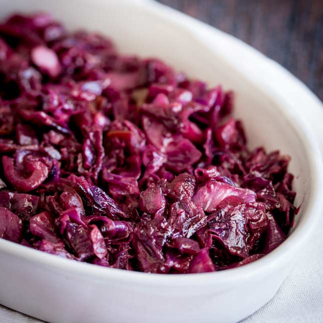 Image result for braised red cabbage