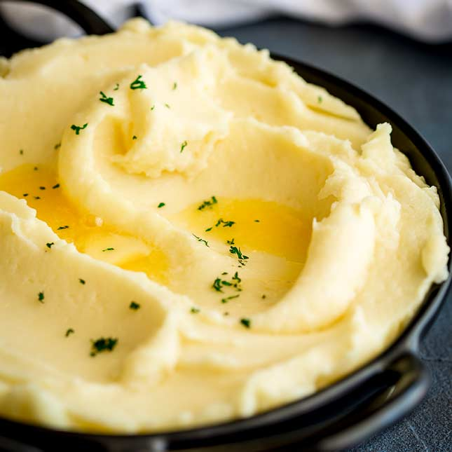 French Style Mashed Potatoes