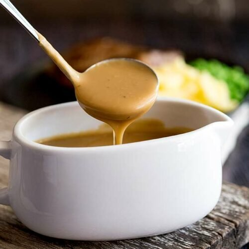 Easy Homemade Brown Gravy (no drippings)